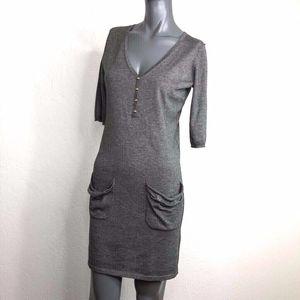 3.1 Phillip Lim Cashmere Silk Knit Sweater Dress M